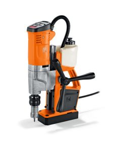 Look and see this Mag drill From Fein. This is also known as the Fein KBU 35 QW Mag Core Drill. ll Rotabroach and Magdrill HSS Cutters and Mag Drill Bits fit this machine.