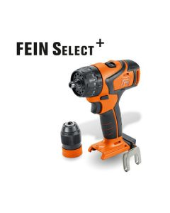 Here is a Cordless Drill/Driver from Fein. Also know as the ABS 18 Q Select. All HSS Drill Bits fit this machine.