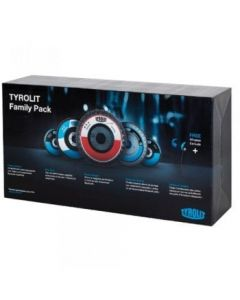 Tyrolit Family Pack - 60 Flap Discs and Free Bluetooth Earphones