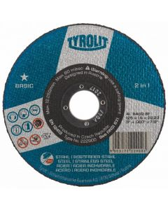 """Pack of 25 Tyrolit 4 1/2"""" X 1MM Cutting Discs - BUY ONE GET ONE FREE"""