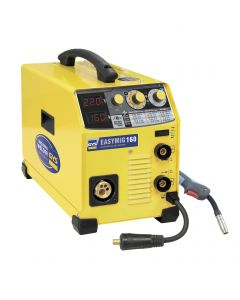 GYS EasyMIG 160 MIG Welder with torch and earth clamp