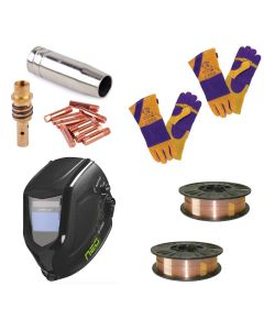 Expert MIG 'Ready to Weld' Package -  MB15 // 5KG