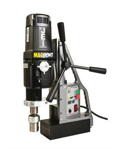 Find here a Mag Drill from JEI. This JEI Mag Drill is also known as the JEI MagBeast HM-100T Mag Drill. All Rotabroach and Magdrill HSS Cutters and Mag Drill Bits fit this machine.