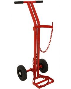 This is an image of a This is an image of a BOC Style Single Cylinder Trolley
