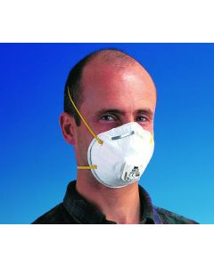 This is an image of a Premium Dust Respirator (valved) (10 per box)
