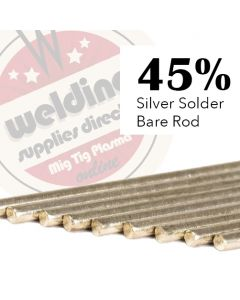 This is an image of a 45% Silver Solder
