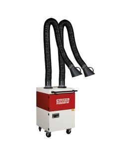ProtectoXtract Twin Mobile Filter Unit Welding Fume Extractor