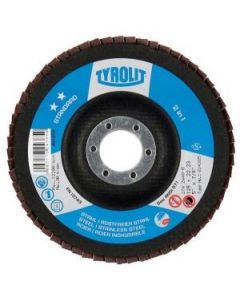 Tyrolit Standard ** 2IN1 4.1/2'' Flap Wheel 120 Grit