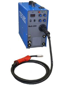 Technical Arc Multi 200i Multi Process Welder with HF TIG with MB15 torch and regulator
