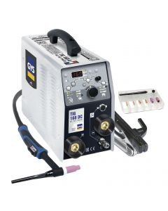 GYS TIG 168 DC TIG Welding machine with accessories