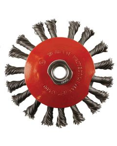ABRACS 100MM X M14 TWISTED KNOT BEVELLED BRUSH